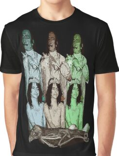 Salvador Dali & Alice Cooper  Graphic T-Shirt