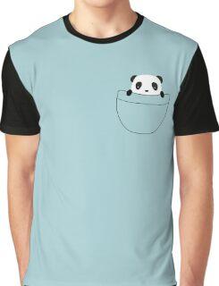 Kawaii pocket panda is so cute Graphic T-Shirt