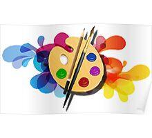 Colour Art Poster