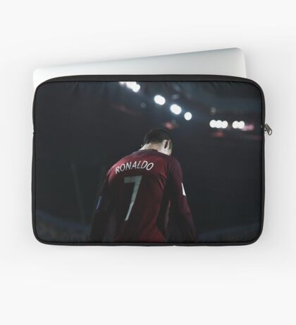 cr7 in Portuguese team Laptop Sleeve