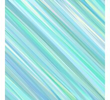 Painted Blue and Green Background Photographic Print
