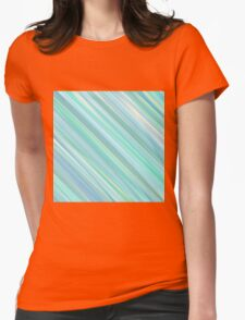 Painted Blue and Green Background T-Shirt