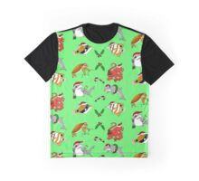 Christmas Sea Creatures Graphic T-Shirt