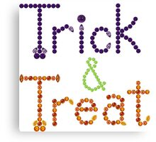 Trick and Treat Canvas Print