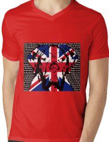 Dogue de Bordeaux - Union Jack Dogue Mens V-Neck T-Shirt