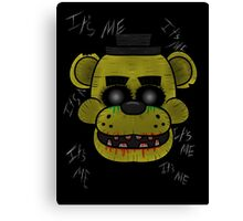 Golden Freddy (Five Night's at Freddy's) Canvas Print