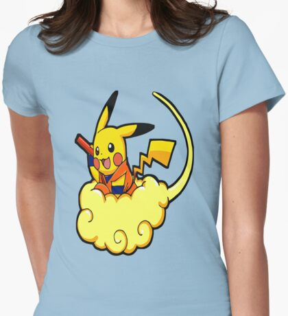 cartoon characters Womens Fitted T-Shirt