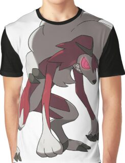 Lycanroc / Lugalgan (Midnight Form) Graphic T-Shirt