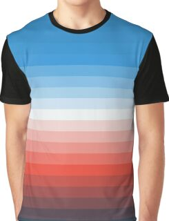 Retro Stripes Graphic T-Shirt