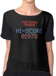 Retro Geek - Hi-Score Chiffon Top