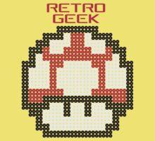 Retro Geek - Get Big Baby Tee
