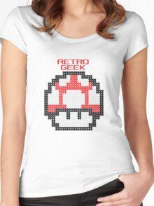Retro Geek - Get Big Women's Fitted Scoop T-Shirt