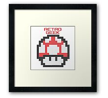 Retro Geek - Get Big Framed Print