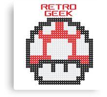 Retro Geek - Get Big Canvas Print