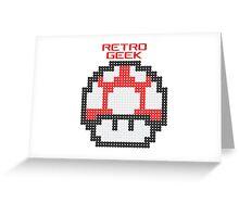 Retro Geek - Get Big Greeting Card