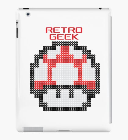 Retro Geek - Get Big iPad Case/Skin