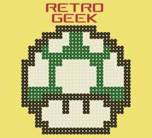 Retro Geek - One Up Kids Tee