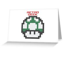 Retro Geek - One Up Greeting Card