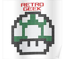 Retro Geek - One Up Poster