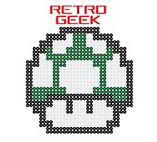 Retro Geek - One Up Photographic Print