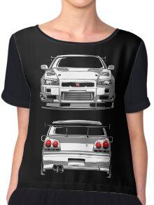 Nissan GTR R34 Chiffon Top