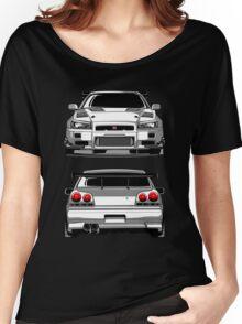 Nissan GTR R34 Women's Relaxed Fit T-Shirt
