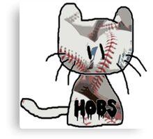 Baseball Hobs Canvas Print