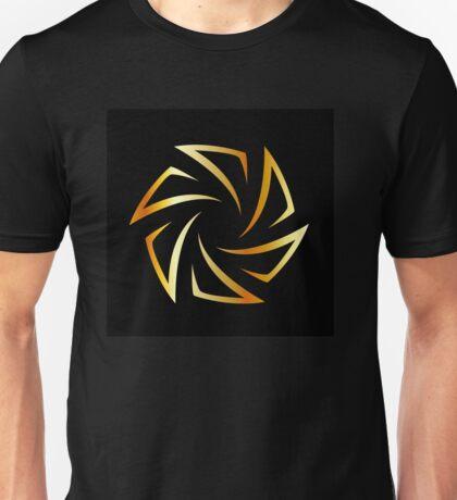 Golden aperture  Unisex T-Shirt