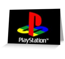 Playstation Greeting Card