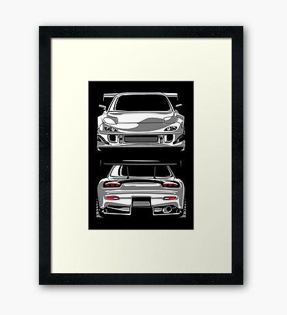 Mazda RX7 FD Framed Print