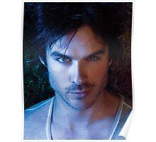 Ian Somerhalder Damon Salvatore The Vampire Diaries Poster