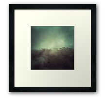 Mystery mountain Framed Print