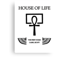 House of Life, Cairo Nome Canvas Print