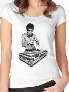 DJ Kung Fu Women's Fitted Scoop T-Shirt