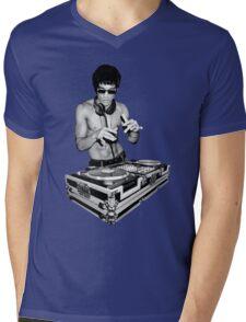 DJ Kung Fu Mens V-Neck T-Shirt