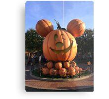 Halloween time at Disneyland  Metal Print