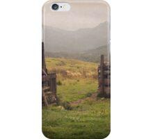 Nevis Mountian range iPhone Case/Skin