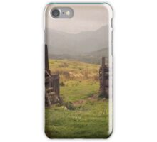 Nevis Mountian range iPhone Case/Skin
