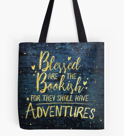 Blessed Bookish Tote Bag