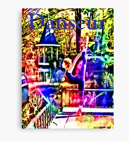 Danseur - Spike Canvas Print