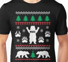 Bear Hug Festive Sweater Unisex T-Shirt