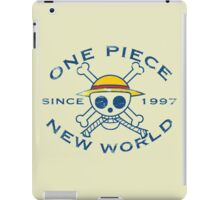 NEW WORLD iPad Case/Skin