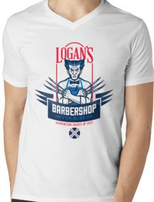 Barbershop Expert Mens V-Neck T-Shirt