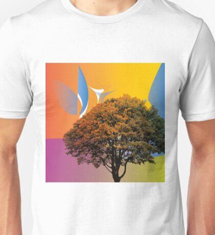 TREE COLOUR BURP - NATURE Unisex T-Shirt