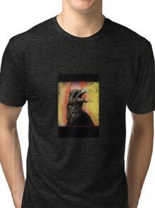 crow speaks Tri-blend T-Shirt