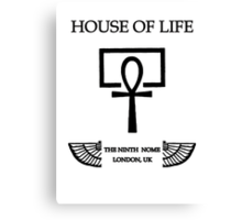 House of Life, London Nome Canvas Print