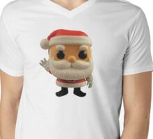 Little Santa Mens V-Neck T-Shirt