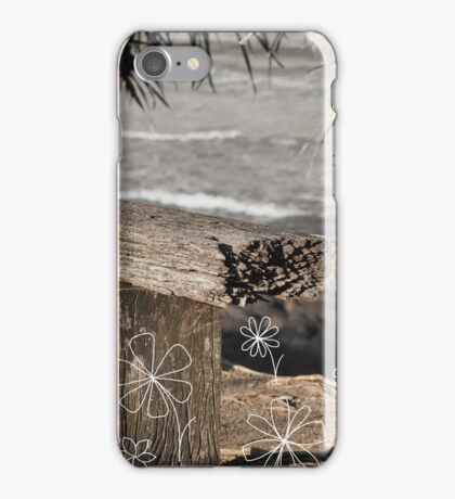 Silver Surf iPhone Case/Skin