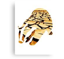 Badger earth (Hufflepuff) Canvas Print