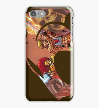 Logo Lion & HeMan iPhone Case/Skin